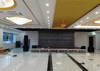 ENB 音箱MP系列进驻上海浦东新区华夏大酒店工程案例