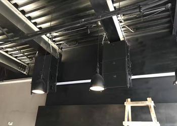 RAuaio音响系统VERA10铷磁线阵进驻北京SAS酒吧工程案例